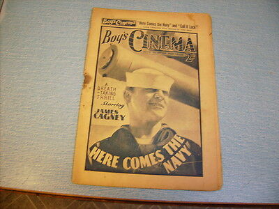 BOYS CINEMA issue 775 -FILM REVIEWS 1934 - JAMES CAGNEY feature
