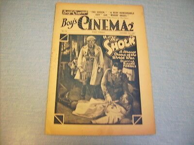 BOYS CINEMA issue 776 -FILM REVIEWS 1934 - THE SHOCK