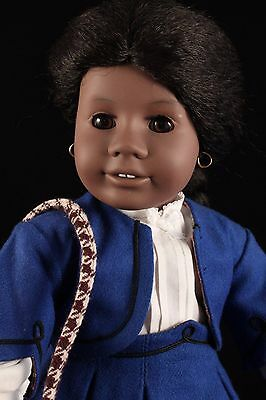 "American Girl Pleasant Co.""Addy Walker"" Retired 18"" Afro-American & Mini Dollie"