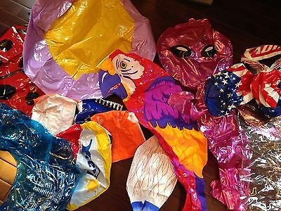 Lot of Assorted Inflatable PoolToys Grab Bag 3 Pounds FREE SHIPPING 10+ Items