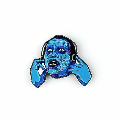 """Make My Bub Bubs Bounce - Soft Enamel Pin 1.5"""" - Zombie Day of the Dead Horror"""