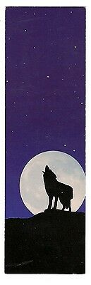 Lesezeichen Lewis Camper - Coyote Howling at the Moon