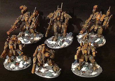 Warhammer 40k Tau Army - Many to choose from