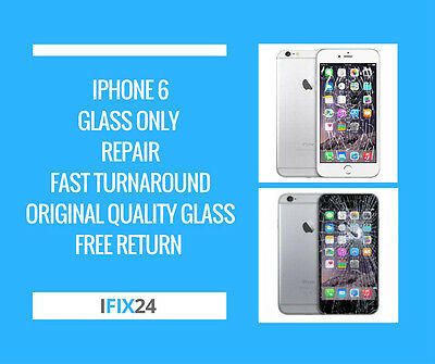 iPhone 6 Digitiser Screen LCD Glass Repair Replacement Service Free Gift