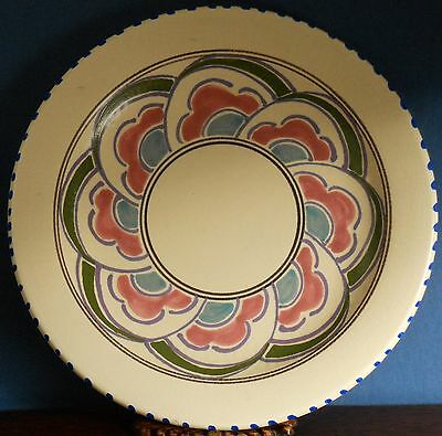 """Vintage hand painted Honiton pottery """"Exton"""" Side Plate"""