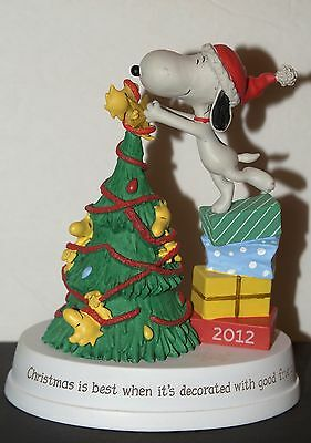 Hallmark Snoopy And Woodstock Christmas 2012 Peanuts Gallery