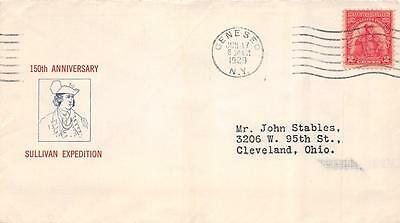 657 2c Sullivan Expedition, First Day Cover Cachet [E103467]