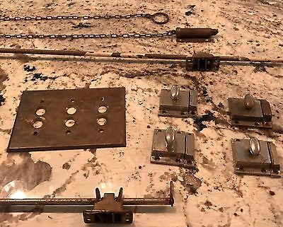 Antique Hardware For Transom Windows, Doors And Lighting