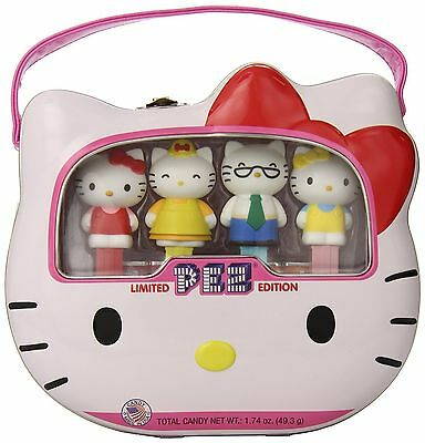 """PEZ~""""Hello Kitty""""~Limited Edition Lunch Box Tin 40th Aniv~BRAND NEW!"""