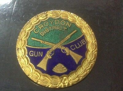 Croydon District Gun Club Badge