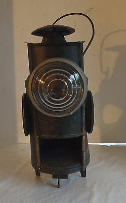 Vintage Dressel Railroad Train Switch Lamp Signal Lantern for parts or restore