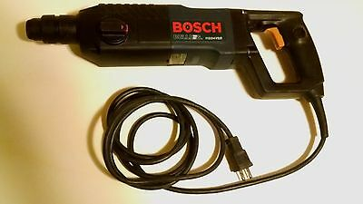 BOSCH BullDog 11224VSR Corded Electric Hammer Drill w/Case SDS *Lightly Used*