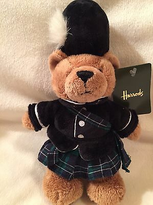 "Harrods 2016 Piper Bear 7"" Plush"