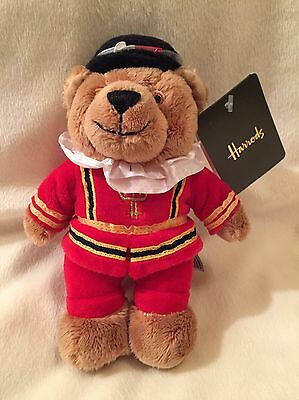 "Harrods 2016 Beefeater Bear 7"" Plush"