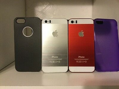 apple 5s phone cases lot of 4
