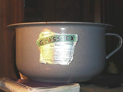 Glasstex Vintage Enamel Ware pot, See other uses .Can b used for other things.