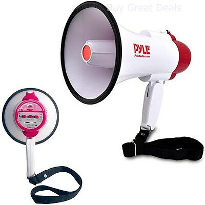 Pyle-Pro Professional Megaphone/Bullhorn with Siren - NEW, Free Shipping