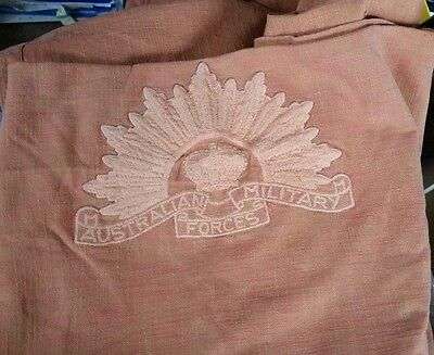 Australian Military Forces Table Cloth/sheet Showing Rising Sun