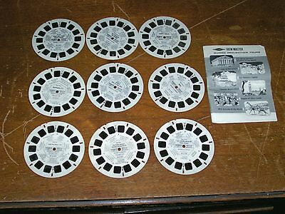VIEWMASTER GUIDED PROJECTION TOUR Reels & Booklet