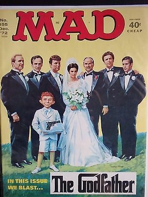 MAD #155 from December 1972 F+