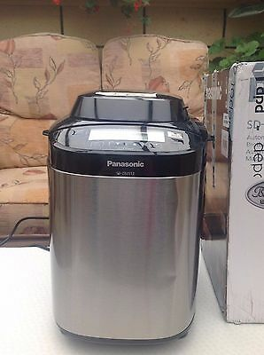 Panasonic SD-ZB2512KXC Stainless Steel Automatic Bread Maker  RRRP £199.99