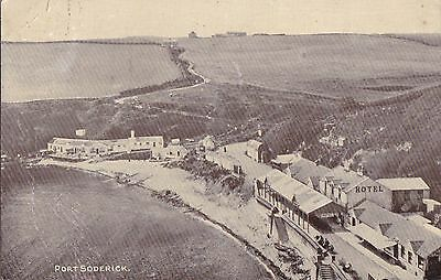 OLD POSTCARD BUILDINGS PORT SODERICK ISLE OF MAN 1910s OC316