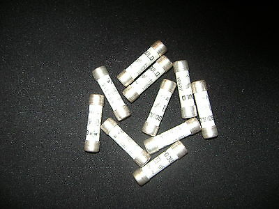 legrand 8.5mm by 31.5 mm cartridge fuse 10 1A 400V boxed