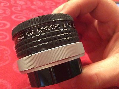 Tele convertor 2x for Canon FD By DOI with Case