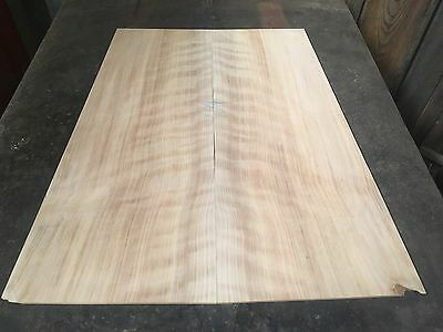 Flame Figured Leyland Cypress Flamenco Guitar Back And Sides . Luthier #360