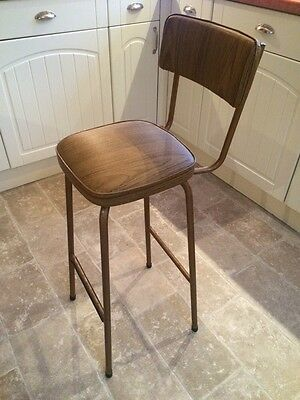 Original Retro Kitchen Bar Chair/ Stool /Industrial Frame By keron London