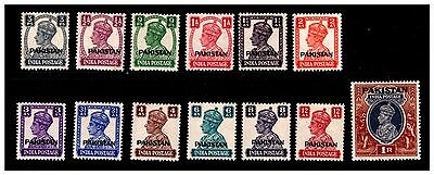 India Ovpt Pakistan Stamps. 1947. Mounted With Hinge.  {#368}