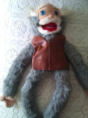Professional Vent Old Man Puppet. (ideal for kids entertainer)