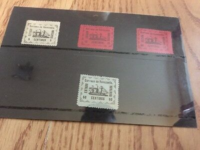1903 Venezuela Guayana Stamps , Mint  & Used  Selection .
