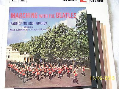 ' Band Of The Irish Guards ' - ' Marching With The Beatles ' -  1St Press