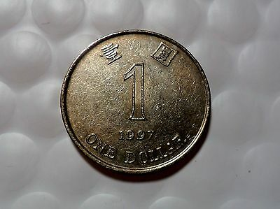 1997  $1  Dollar Hong Kong