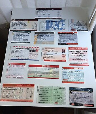 16 Cardiff City Away Tickets