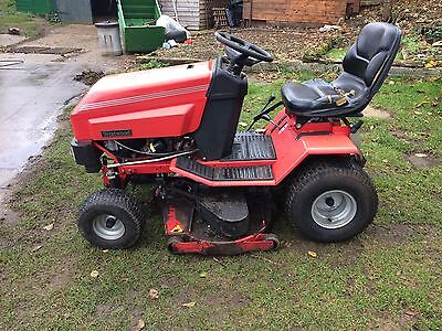 Westwood T1600 Ride On Mower, With Sweeper And Collector.