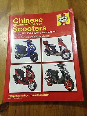 Chinese Scooters Haynes Workshop Manual