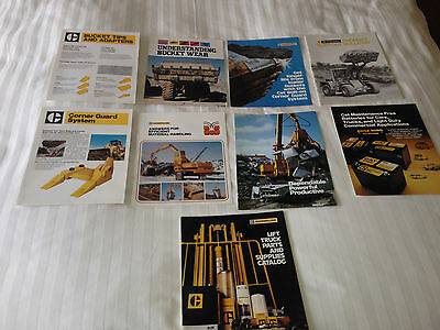 CATERPILLAR Parts & Sales leaflets and brochures