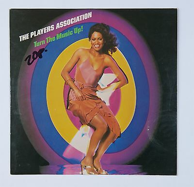 The Players Association  Turn the music Up! vinyl lp