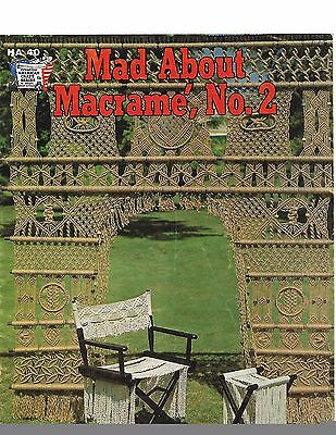 Mad About Macrame No.2 Pattern and Instruction Booklet