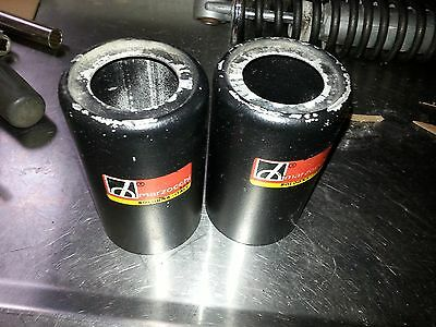 """72-74 DUCATI BEVEL 750 GT MARZOCCHI 305mm (11 3/4"""")  SHOCKS ALLOY SHOCK COVERS"""