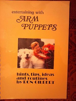 """Ron Gilberts  """"ARM PUPPETS BOOKLET"""""""