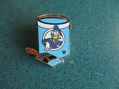 Disney Hidden Mickey Paint Can Series Donald Duck Completer Pin Authentic