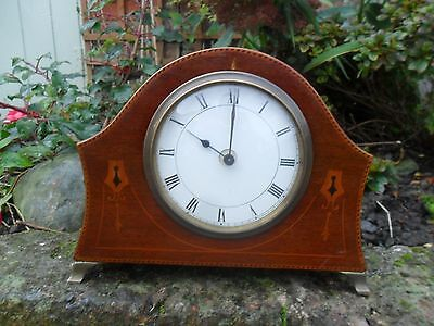 French Mantel Clock Lovely Dial And Case