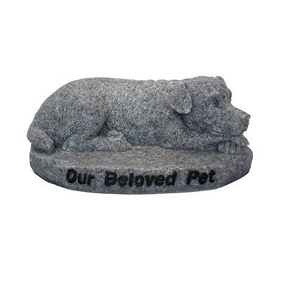Our Beloved Pet Dog Memorial Stone - Free UK Shipping