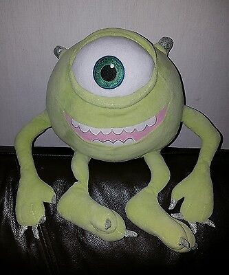 Disney store exclusive Monsters Inc Mikey soft toy