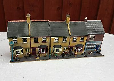 Hornby Skaledale Etc Oo Gauge Low Relief Houses And Shop Unboxed