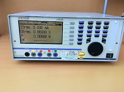 ZES ZIMMER LMG95 Single Phase Precision Power Analyzer. In Perfect Working Order