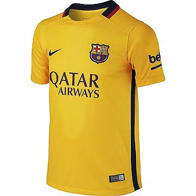 Nike maillot football Fc Barcelone  exterieur neuf taille enfant